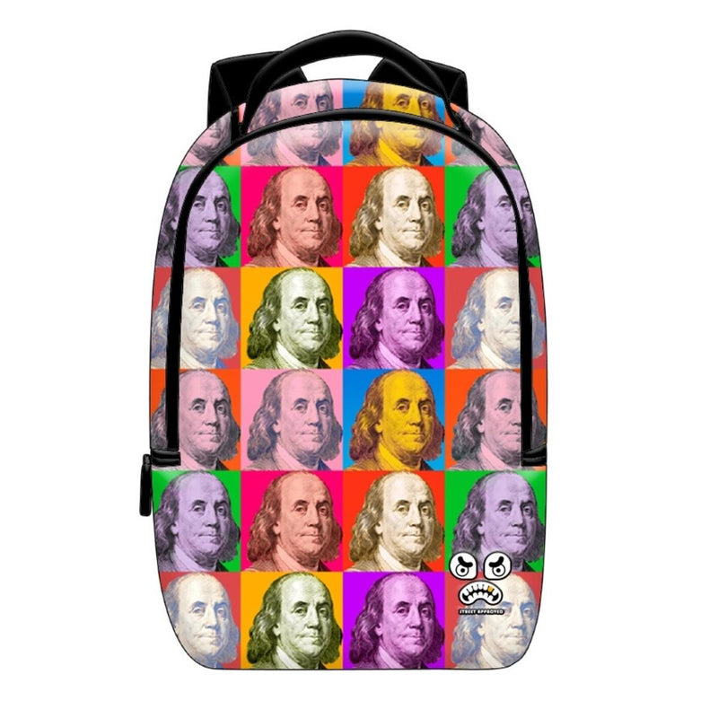 Street Approved Multi Benjamin Backpack (Multi)