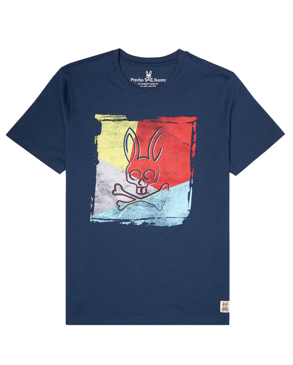 Psycho Bunny mens graphic tee (odyssey)