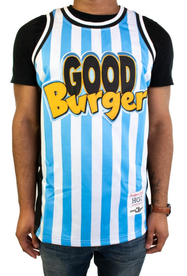 Headgear Kel Good Burger Jersey (White/Blue Stripe)