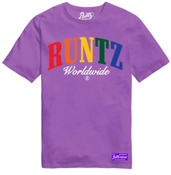 Runtz Worldwide Shirt (Light Purple)