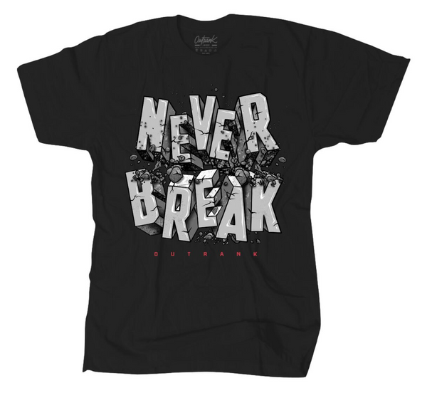 Outrnk Never Break Tee (Black)