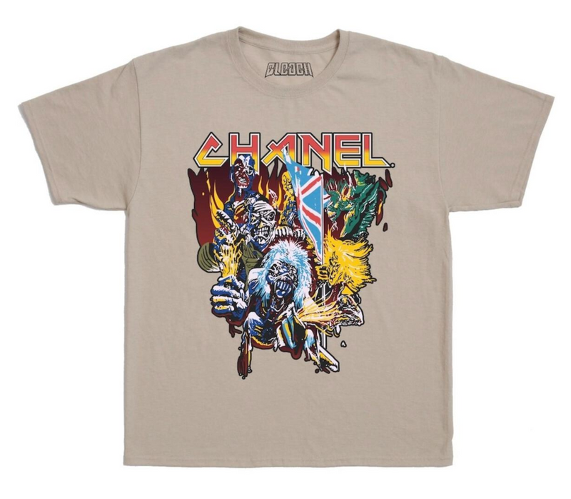 Bleach Whole Gang Tee (Khaki)