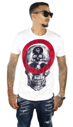 George V Paris GV Skull (White)