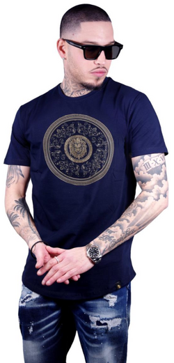 George V Paris Gold Lion Medallion (Navy)
