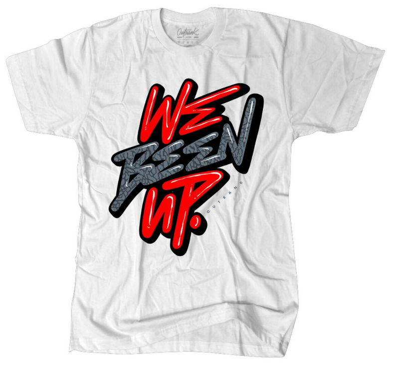 Outrnk We Been Up Tee (White)