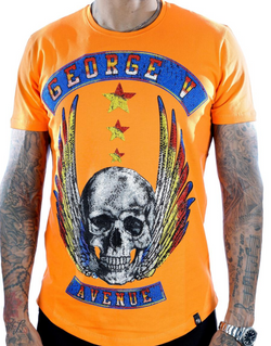George V Paris Fly Skull (Orange)