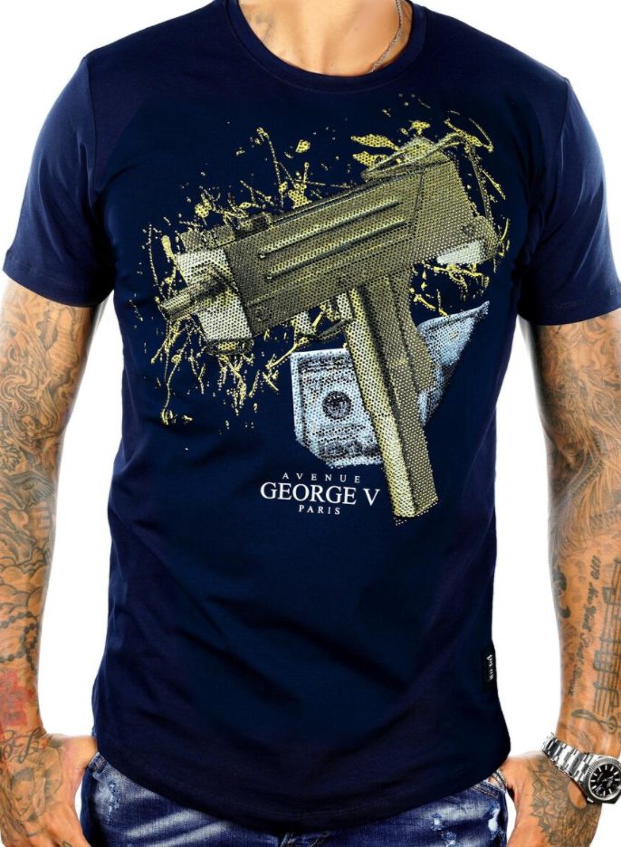 George V Paris Golden Gun (Navy)