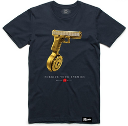 Hustle Daily Drum Mag Glock Shirt (Navy)