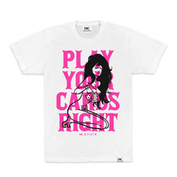 Ethik Play Your Cards Tshirt (White)