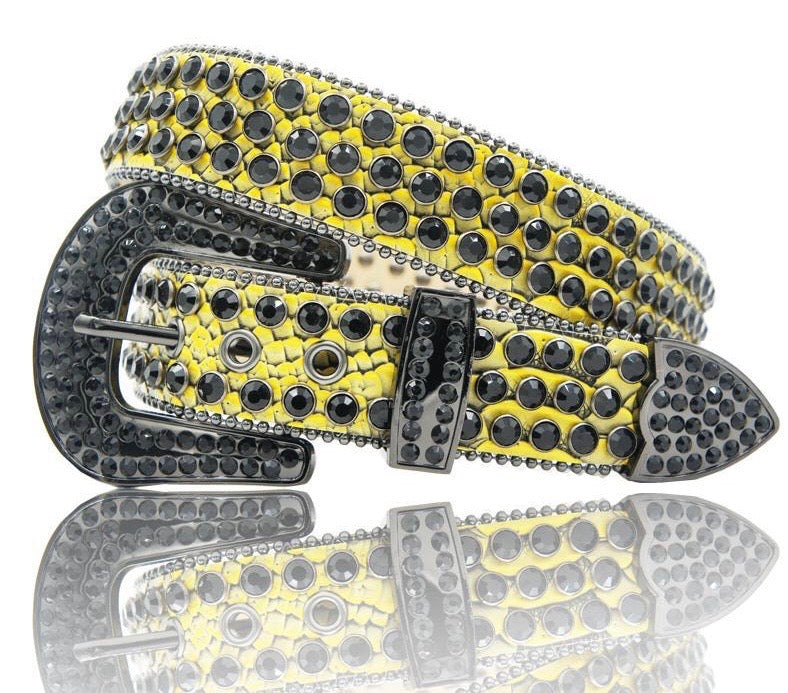 DNA Belt (Yellow/Black)