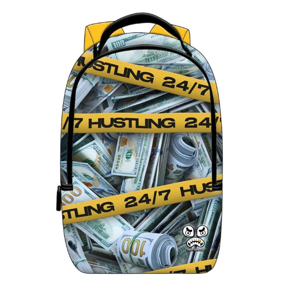 Street Approved Hustling Backpack (Black)