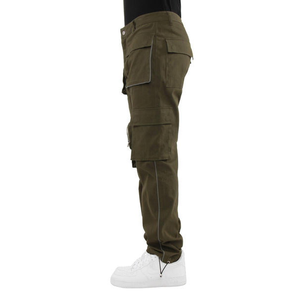 EPTM 3M Piping Cargo Pants (Olive)