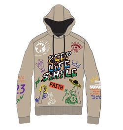 Create 2MRW Keep Life Simple Hoodie (Khaki)