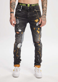 Alien 51 Denim (Black)