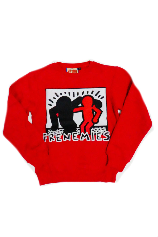 RETRO LABEL Frenemies crewneck (He Got Game)