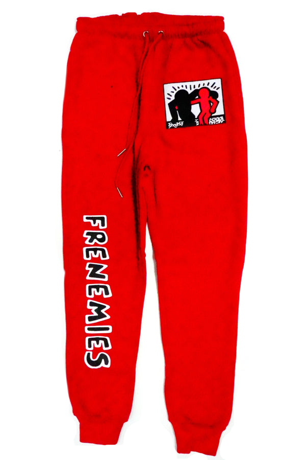 RETRO LABEL Frenemies jogger pants (He Got Game)