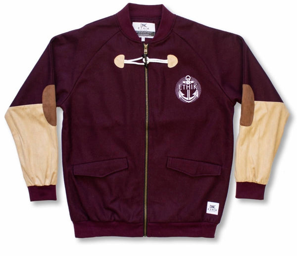 Ethik Yacht Club Jacket (Brown)
