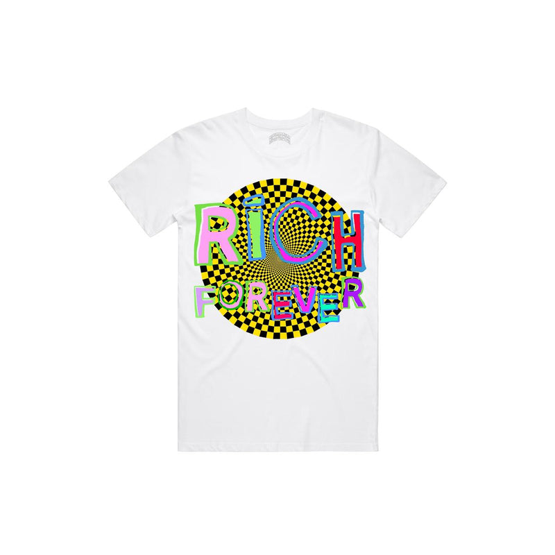 Rich Forever Hypnotized Tshirt (White)