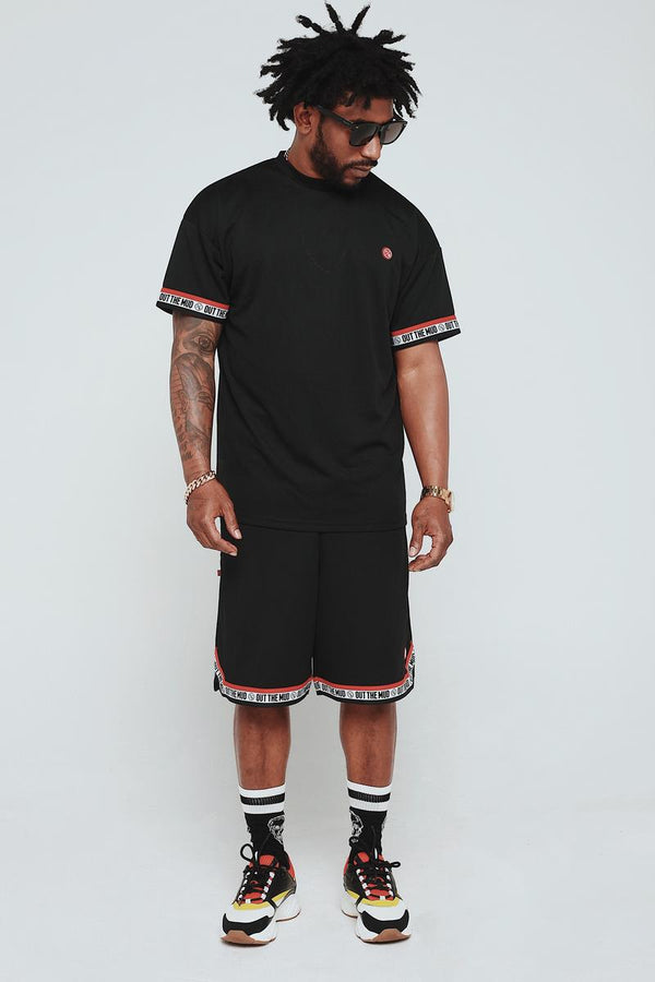 Fly Supply Out The Mud Shirt (Black)