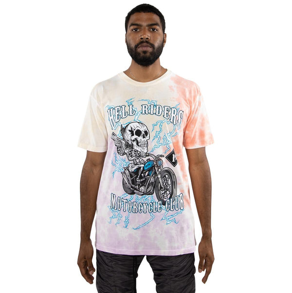 EPTM Motorcycle Tshirt (Pink/Yellow)