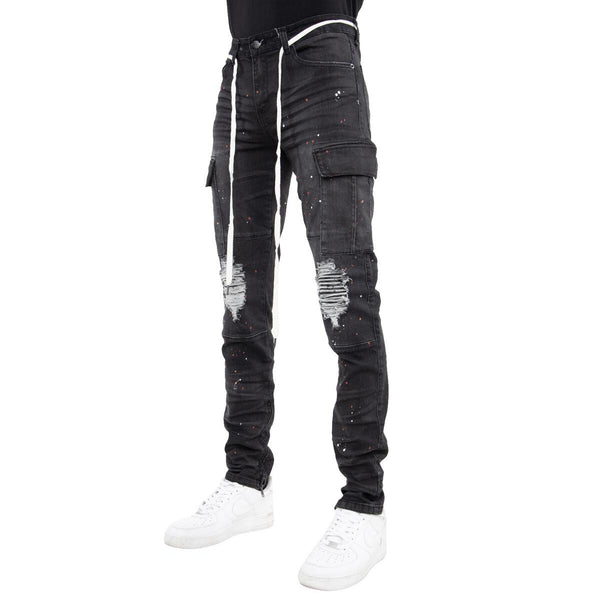 EPTM Outlaw Cargo Denim (Dark Charcoal)