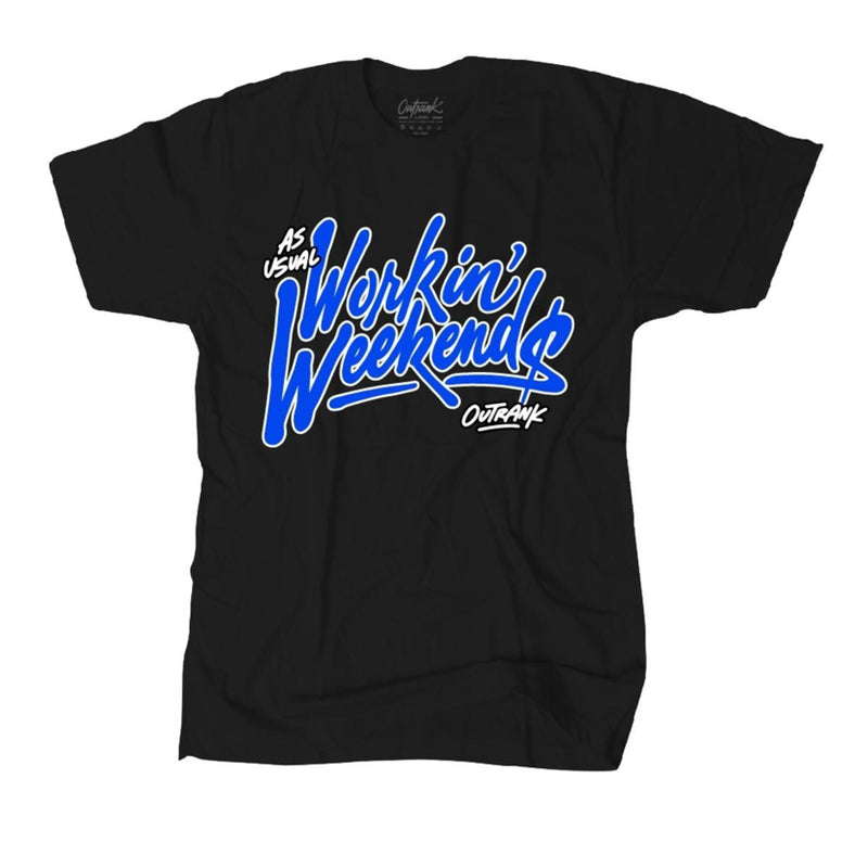 Outrnk Workin' Weekends Tee (Black)