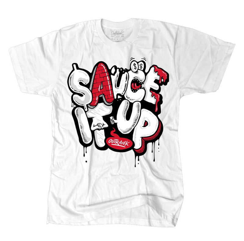 Outrnk Sauce it Up Tee (White)