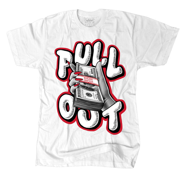 Outrnk Pull Out Tee (White)