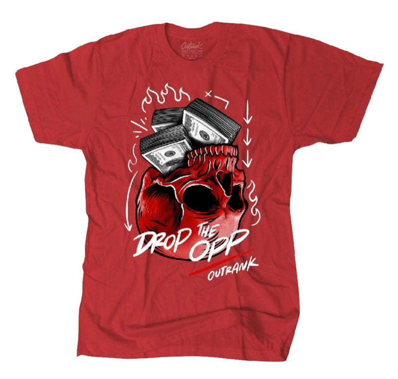 Outrnk Drop The Opp Tee (Red)