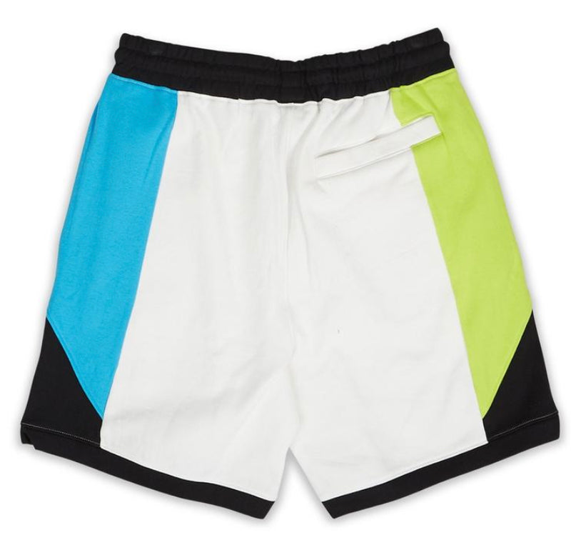 Le Tigre Moto Lanes Shorts (Black/Blue/Green)