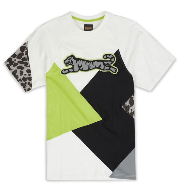 Le Tigre Reflective Geo Shirt (Black/Grey/Green)