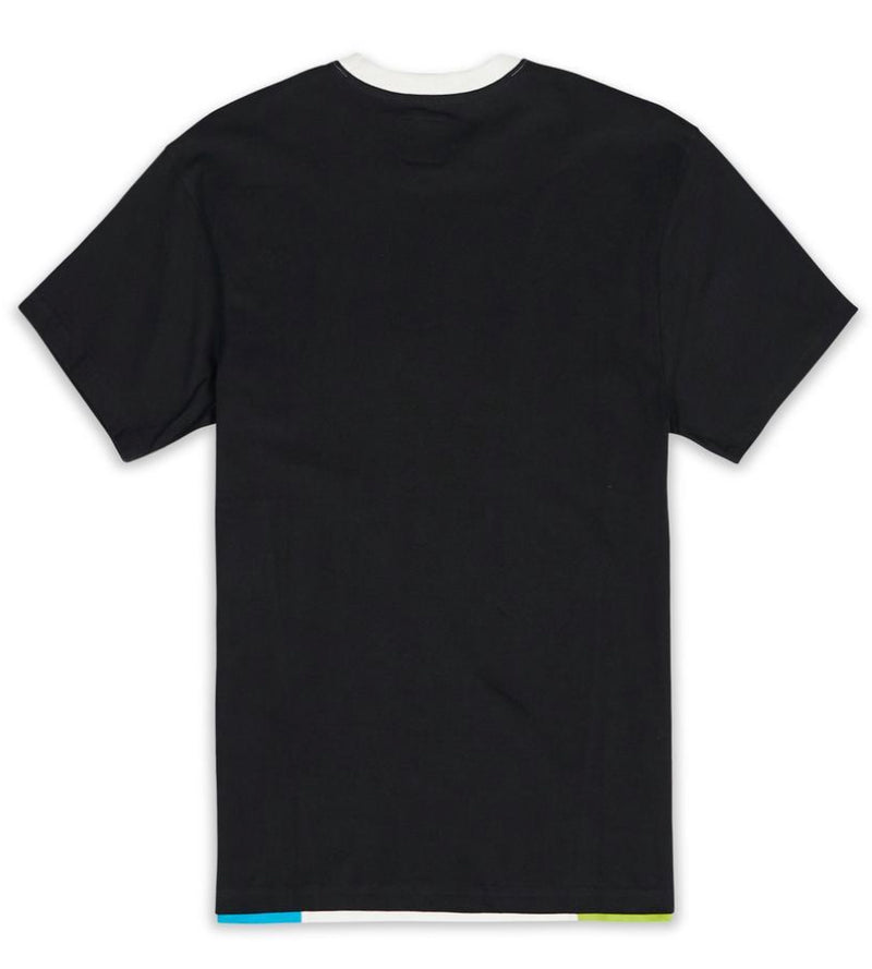 Le Tigre Moto Lanes Shirt (Black/Blue/Green)