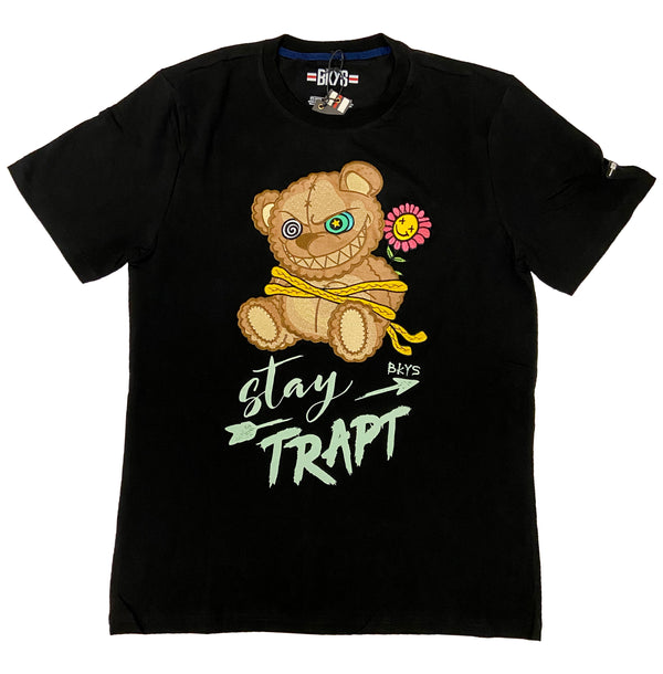 Black Keys Stay Trap Tee (Black)