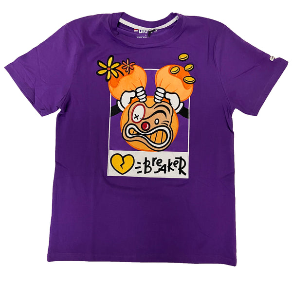 Black Keys Heart Breaker Tee (Purple)