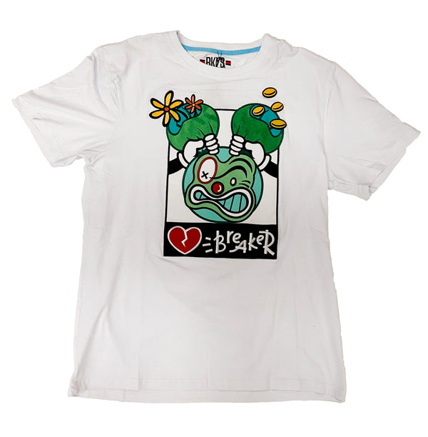 Black Keys Heart Breaker Tee (White)