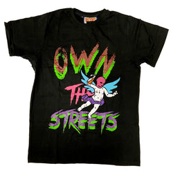 Retro Label Own the Streets Shirt (Multi)