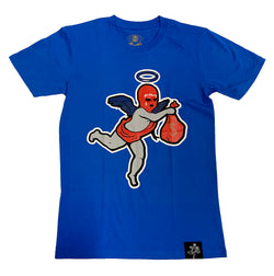 Hustle Daily Get the Money Angel Shirt (Royal)