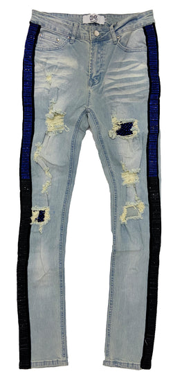 Dna Rhinestones Denim (Blue/Black)