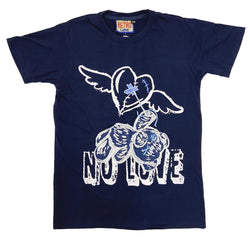 Retro Label No Love Shirt (Retro 12 Legends Indigo)
