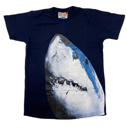 Retro Label Sharks Shirt (Retro 12 Legends Indigo)