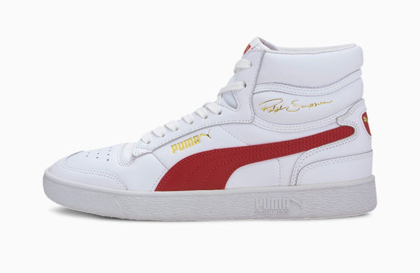 Puma Ralph Sampson Mid (White/Red)
