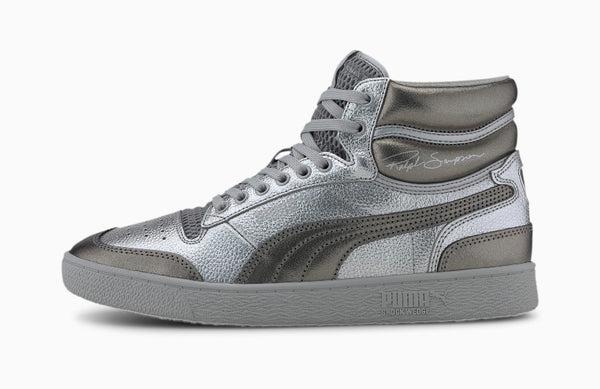 Puma Ralph Sampson Mid Cloud (Silver)