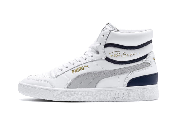 Puma Ralph Sampson Mid (White/Grey)
