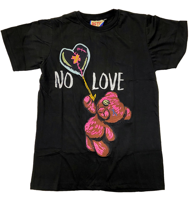 Retro Label No Love Shirt (Retro 1 Bio Hack)