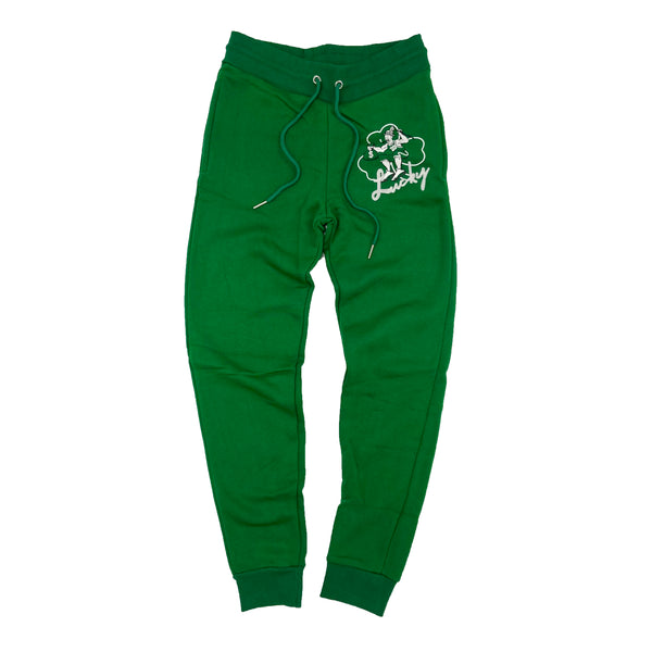 Retro Label Lucky Joggers (Retro 13 Lucky Green)