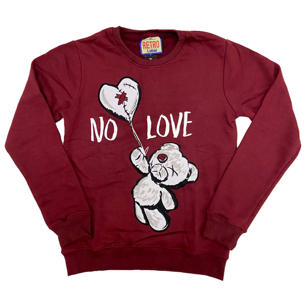 Retro Label No Love Crewneck (Retro 4 SE PSG)