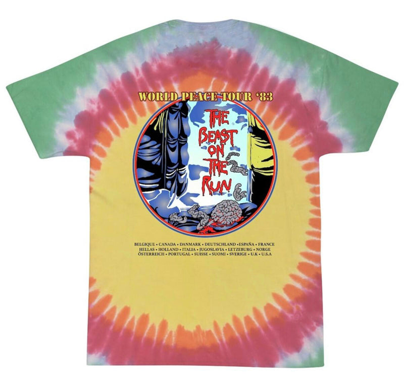 Bleach On the Run Tee (Tie Dye)
