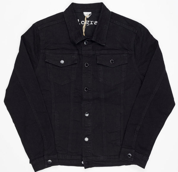 Kilogram Denim Jacket (Jet Black)
