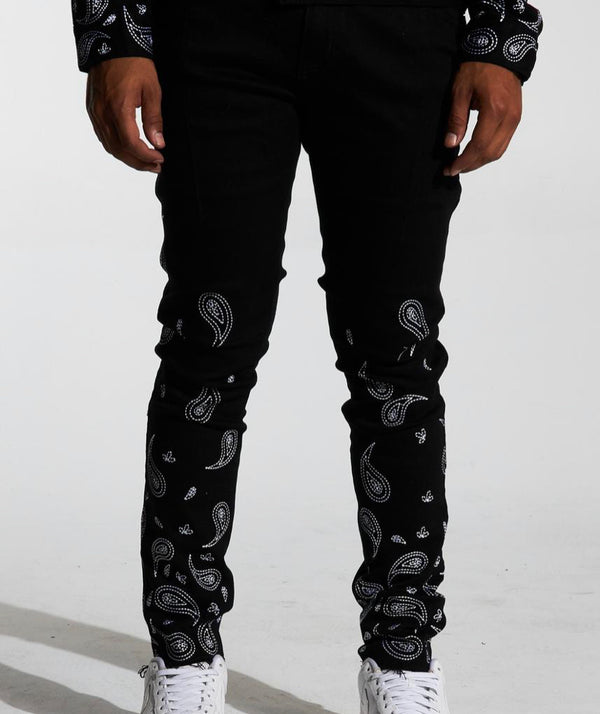 Lifted Anchors Pablo Denim (Black)