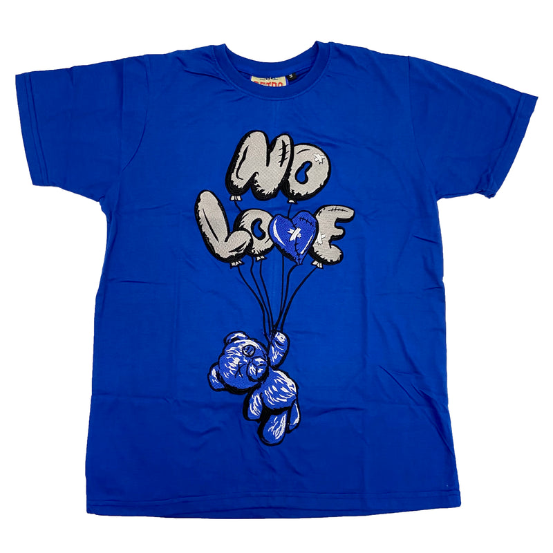 Retro Label No Love Air Shirt (Retro 3 Blue Cement)